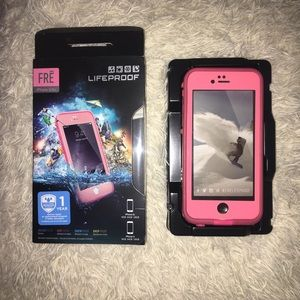 2/30 Lifeproof Fre iPhone 6/6s Pink Phone Case
